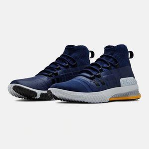 Under Armour UA Project Rock 1 Training Shoes Navy